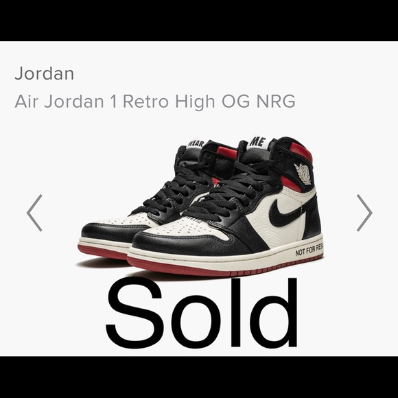 quality design 6bfc6 2f6c8 Air Jordan 1 Retro High OG NRG 'NOT FOR RESALE'